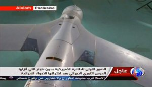Iranian TV showed images of what was said to be a ScanEagle.