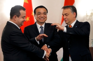China's Premier Li Keqiang visit to Romania