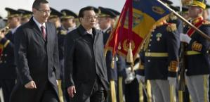 China's Premier Li Keqiang arrived Bucharest
