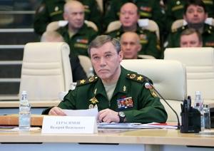 Russia's chief of General Staff, Gen. Valery Gerasimov